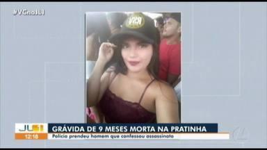 Polícia prende suspeito de ser mandante da morte de jovem grávida no bairro da Pratinha - Polícia prende suspeito de ser mandante da morte de jovem grávida no bairro da Pratinha em Belém