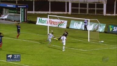 Caldense vence o Bahia de Feira e entra de vez na briga por vaga na Série D - Caldense vence o Bahia de Feira e entra de vez na briga por vaga na Série D