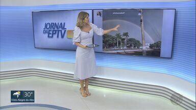 Telespectadores enviam mensagens para o EPTV1 - Para participar basta enviar sua mensagem com #EPTV1 no Twitter.