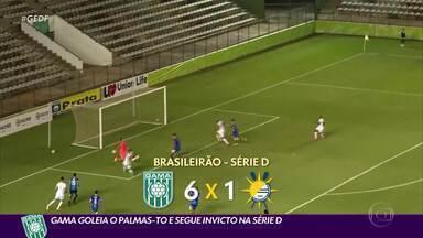 Gama e Brasiliense seguem dominantes na Série D do Brasileirão - Gama e Brasiliense seguem dominantes na Série D do Brasileirão