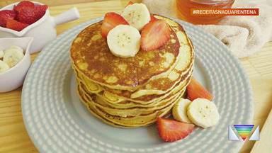 Como inovar no café da manhã: panquecas americanas - Veja a receita.