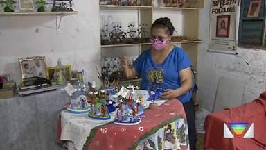 Figureiros retomam os trabalhos em Taubaté - Retorno segue à risca os protocolos.