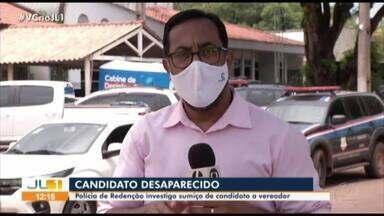 Polícia de Redenção investiga desaparecimento de candidato a vereador - Polícia de Redenção investiga desaparecimento de candidato a vereador