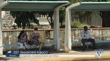 Ônibus municipais de Itanhaém não circulam na cidade desde sexta-feira - Empresa afirma que está com problemas para adquirir recursos.