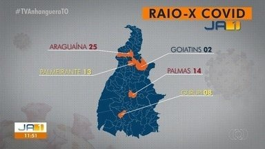 Veja quais são as cidades do TO que mais registraram casos da Covid-19 nas últimas 24h - Veja quais são as cidades do TO que mais registraram casos da Covid-19 nas últimas 24h