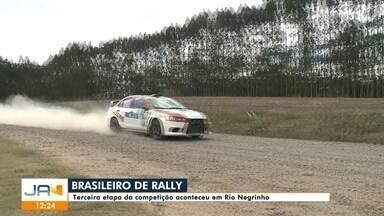 Terceira etapa do Brasileiro de Rally de Velocidade ocorre em Rio Negrinho - Terceira etapa do Brasileiro de Rally de Velocidade ocorre em Rio Negrinho