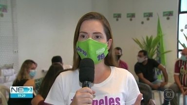 Delegada Patrícia (Podemos) apresenta propostas de trabalho para a classe artística - Candidata a aprefeita do Recife se reuniu com representantes da categoria, nesta segunda (26)
