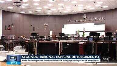 Desembargadores são sorteados para tribunal de julgamento de 2º pedido de impeachment - Desembargadores são sorteados para tribunal de julgamento de 2º pedido de impeachment