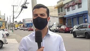 Candidato à Prefeitura de Mogi das Cruzes Michael Della Torre visita Brás Cubas - Ele fez campanha no distrito e falou sobre segurança.