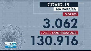 Paraíba tem 130.916 casos confirmados e 3.062 mortes por coronavírus - São 135 casos e 8 mortes confirmadas nesta segunda-feira (26).