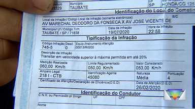 Radares desativados voltam a multar em Taubaté; nº de multas aumenta 125% em 2020 - Confira a reportagem exibida pelo Jornal Vanguarda.
