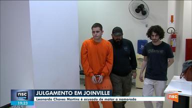 Acusado de matar namorada em Joinville será julgado nesta terça-feira - Acusado de matar namorada em Joinville será julgado nesta terça-feira