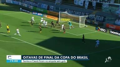 Santos e Ceará ficam no empate, sem gols - Saiba mais no g1.com.br/ce