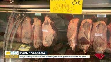 Preço da carne continua alto no ES; Veja quais são os motivos dessa alta. - Veja a seguir.