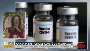 Professora da Ufes fará parte de comitê nacional que coordenará vacinação da Covid-19 - Veja a seguir.