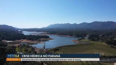 Nível dos reservatórios da região de Curitiba está em 27,73% - Instalação de equipamentos em chuveiros e torneiras, por exemplo, e reaproveitamento da água podem diminuir o consumo de água.