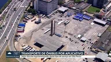 Artesp realiza consulta pública sobre o transporte de ônibus por aplicativos em São Paulo - Empresas oferecem passagens por menos da metade do preço convencional.