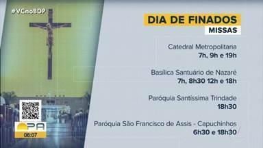 Veja a programação das missas para o Dia de Finados - Veja a programação das missas para o Dia de Finados