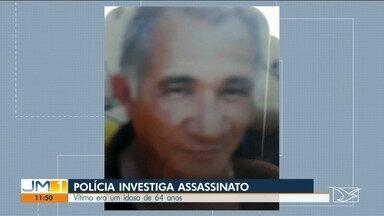 Polícia investiga assassinato de idoso em Codó - A vítima, de 64 anos, foi encontrada com várias marcas de tiros pelo corpo.