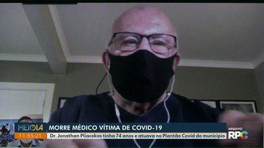 Médico de 74 anos morre vítima de Covid-19 em Foz do Iguaçu - Dr. Jonathan Pliacekos atuava no Plantão Covid do município.