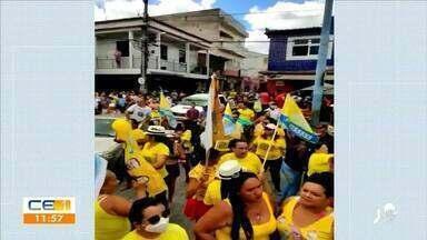 Feriado de Finados é marcado por aglomeração, tumulto e ação da polícia - Saiba mais em g1.com.br/ce