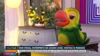 Paranaenses se despedem de Tom Veiga, ator que interpretava Louro José - De acordo com laudo do IML, o ator Tom Veiga sofreu um AVC.