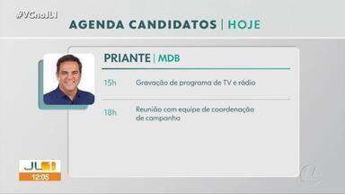 Acompanhe a agenda dos candidatos a prefeitura de Belém nesta segunda-feira, 2 - Acompanhe a agenda dos candidatos a prefeitura de Belém nesta segunda-feira, 2