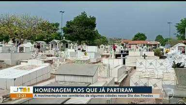 Veja como foi a movimentação nos cemitérios de outros municípios do oeste do Pará - Cemitérios adotaram protocolos para evitar o risco de contágio pelo novo coronavírus.