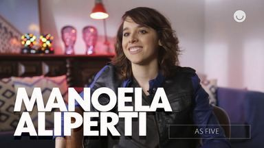Confira entrevista exclusiva com Manoela Aliperti sobre As Five - Atriz conta como foi gravar a série e fala sobre sua personagem Lica!