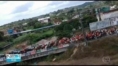 MP pede cassação de chapa em São Lourenço da Mata - Pedido parte de denúncia de aglomeração em ato de campanha; coligação nega irregularidades.