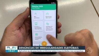 Aplicativo ajuda população a informar sobre irregularidades nas campanhas - Eleitor pode ficar de olho e denunciar irregularidades.
