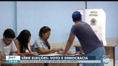 Série Eleições: a consciência da importância do voto nas escolhas de cada cidadão - Série Eleições: a consciência da importância do voto nas escolhas de cada cidadão