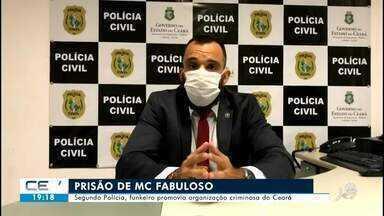 Funkeiro promovia organização criminosa do Ceará, segundo Polícia - Confira mais notícias em g1.globo.com/ce