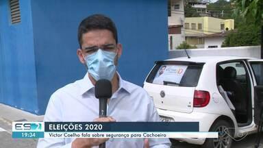 Victor Coelho fala sobre propostas para segurança em Cachoeiro de Itapemirim, ES - Veja na reportagem.