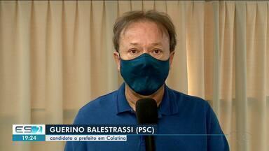 Guerino Balestrassi fala sobre propostas para a geração de emprego em Colatina, ES - Veja na reportagem.