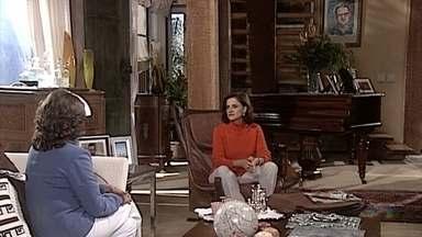 Sílvia previne Alma sobre um caso entre Pedro e Íris, que é menor de idade - Alma afirma que confia em Pedro e repreende Sílvia