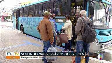 Passagem de ônibus de Friburgo continua com o mesmo valor apesar da decisão de redução - A redução da tarifa foi aprovada há dois meses no município, mas até hoje (04) o valor não foi modificado para os passageiros.