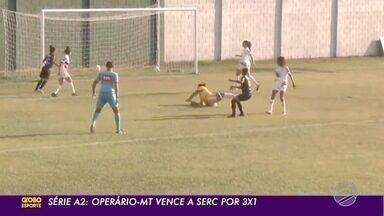 Serc perde para o Operário-MT e fica distante da classificação no brasileiro A2 - Time feminino soma três derrotas em três jogos