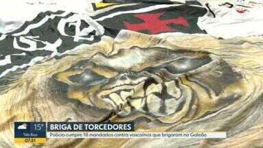 Operação mira torcida organizada do Vasco da Gama - Polícia busca provas de associação criminosa contra o grupo, que se envolveu em briga no mês passado.
