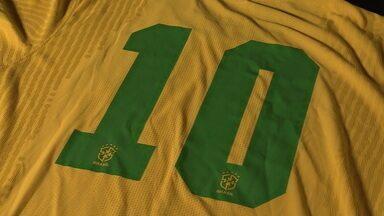 Nova camisa da Seleção homenageia 50 anos do tricampeonato mundial - Nova camisa da Seleção homenageia 50 anos do tricampeonato mundial