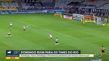 Confira as notícias do futebol - André Loffredo mostra a goleada em cima do Flamengo e o Vasco na zona de rebaixamento.
