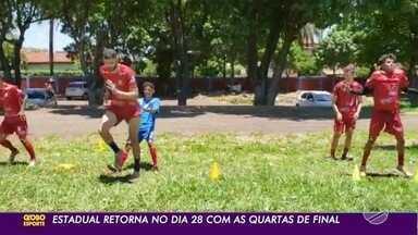 Comercial e Operário voltam aos treinos para o retorno do Campeonato Sul-mato-grossense - Dupla Comerário vai se enfrentar pelas quartas de final do Estadual