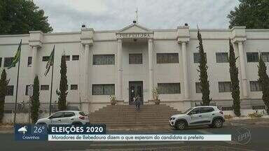 Eleições 2020: Moradores de Bebedouro dizem o que esperam do candidato a prefeito - Cidade tem cinco políticos na disputa: Carlos Orpham (PT), Engenheiro Nasser (PDT), Fernando Piffer (PSDB), Lucas Seren (Democratas) e Mestre Rodrigo (PSOL).