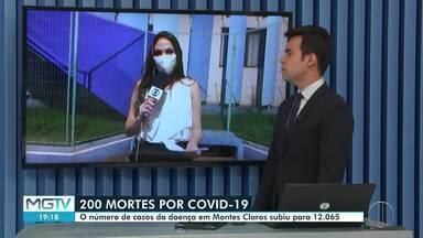 Covid-19: Montes Claros chega a 200 mortes - Número total de casos é de 12.065, segundo a Prefeitura.