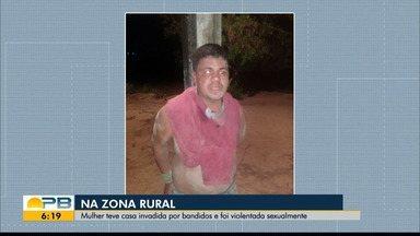 Suspeito de invadir casa e estuprar mulher é preso pelo irmão da vítima, em Remígio - Ele e mais dois invadiram a casa, roubaram e estupraram mulher