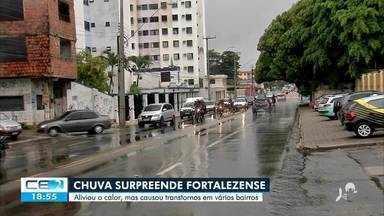 Os transtornos causados pela chuva na capital - Saiba mais no g1.com.br/ce