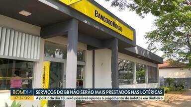 Fim do convênio da Caixa com o Banco do Brasil altera serviços das lotérias - Serviços deixarão de ser prestados.