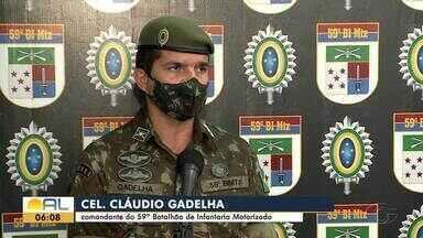 Exército vai reforçar a segurança nos municípios de AL durante as votações - Militares de Pernambuco vão participar da ação.