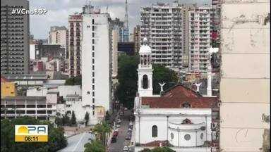 Sinos da Basílica de Nazaré passam por manutenção e modernização - Sinos da Basílica de Nazaré passam por manutenção e modernização.