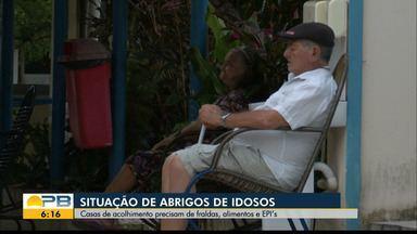 Casas de acolhimentos de idosos precisam de doações, em João Pessoa - Saiba como contribuir com os abrigos